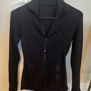 Lululemon black define jacket size 2